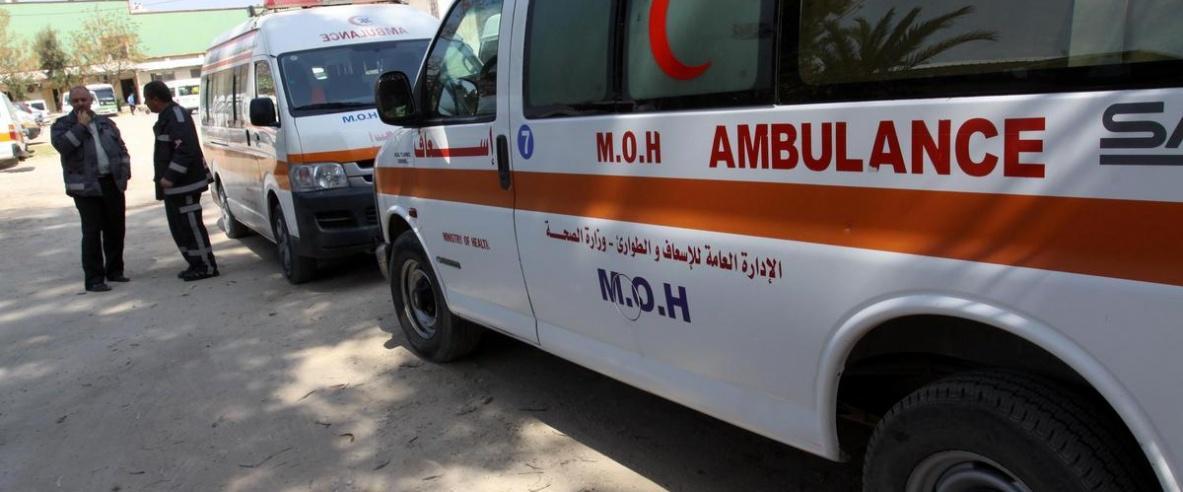 إصابة مواطنة بحروق إثر فحص خاطئ لأسطوانة غاز في جنين
