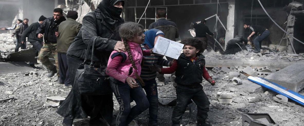 مئات القتلى والجرحى في الغوطة السورية