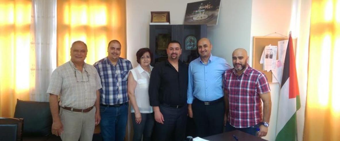 (صور) مذكرة تفاهم بين بلدية بيت ساحور والمركز الفلسطيني للتقارب بين الشعوب