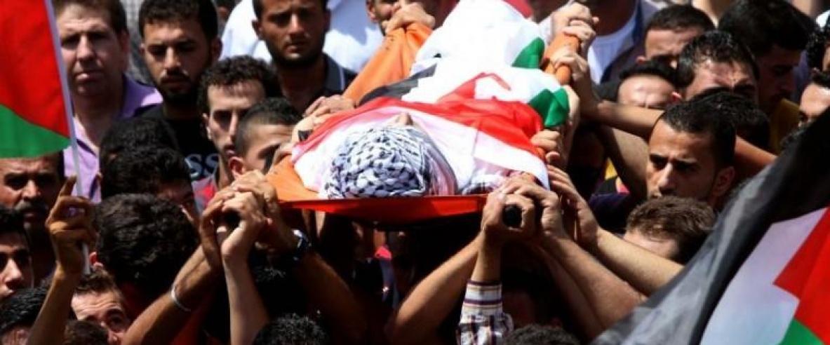 قطاع غزة يشيع جثامين 4 شهداء قضوا بنيران الاحتلال