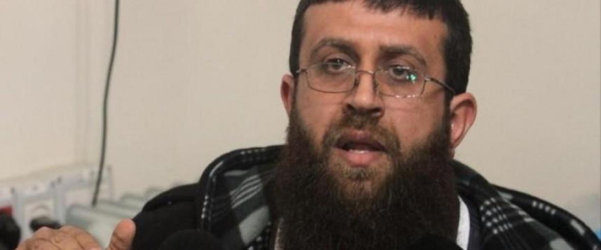 الشيخ خضر عدنان يتنسم الحرية بعد انتصاره في معركة الأمعاء الخاوية