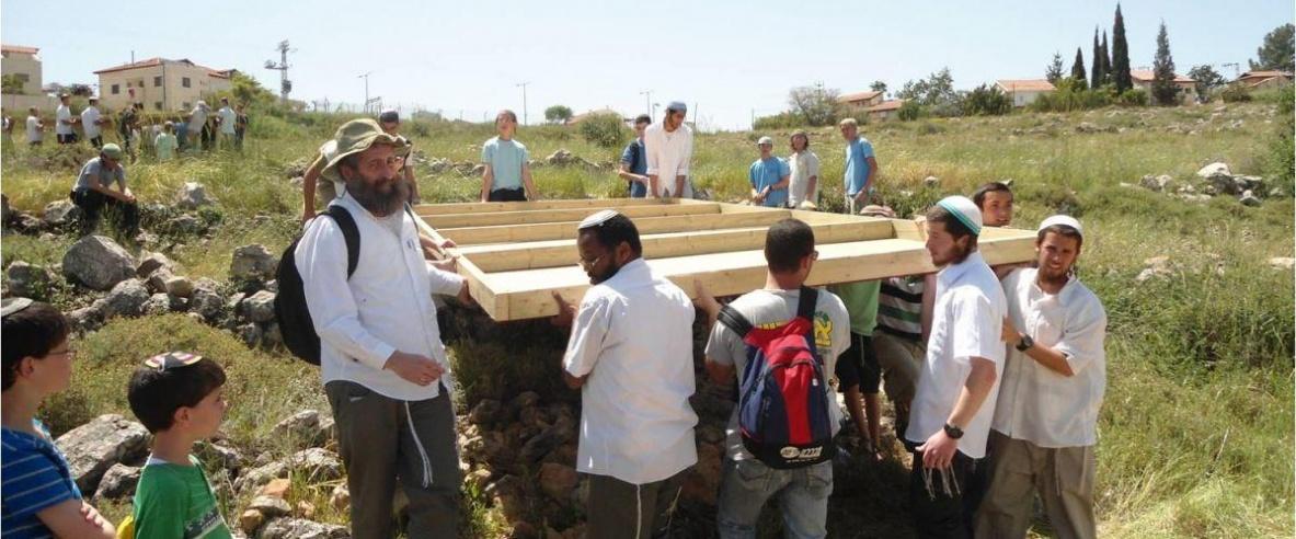 مستوطنون يهاجمون متنزهاً قيد الإنشاء غرب نابلس