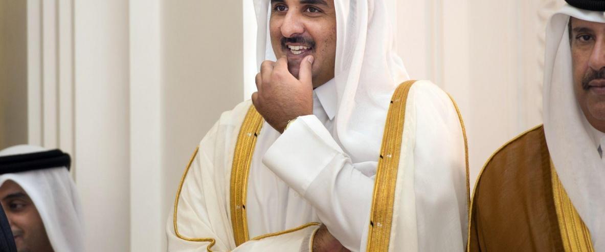 أمير قطر: الشرق الأوسط يواجه عدد التحديات أبرزها القضية الفلسطينية