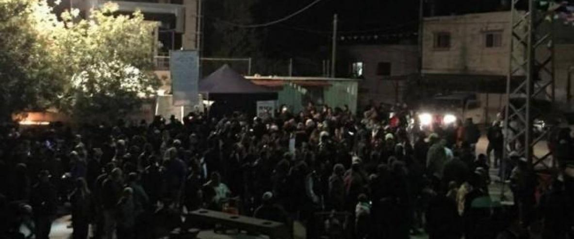مئات المستوطنين يقتحمون كفل حارس