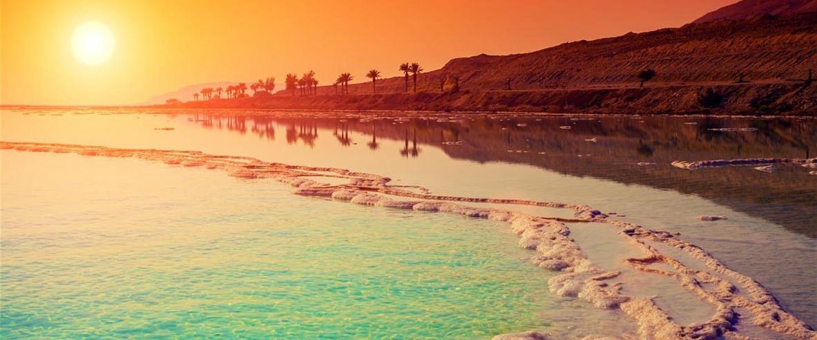 بطاقات بريدية من 255 مليون سنة على شاطئ البحر الميت