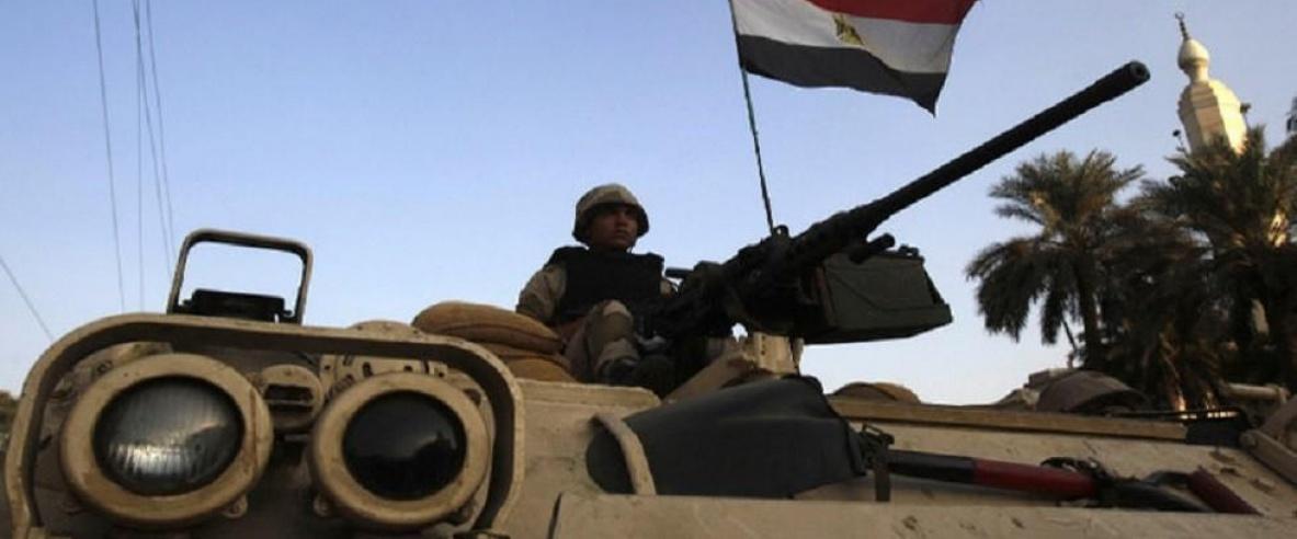 سقوط قذيفة مصرية بمدينة رفح الفلسطينية