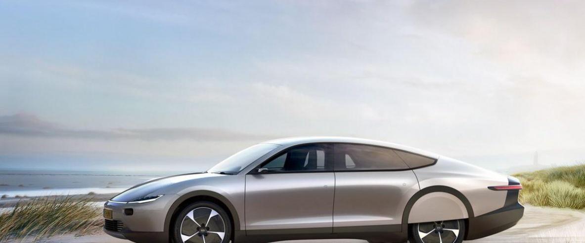 شركة تكشف عن سيارة شمسية