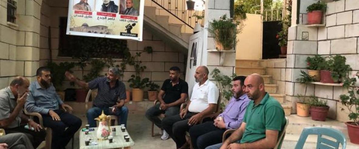 جنين: اعتصامٌ مفتوح أمام منزل الأسير المضرب سلطان خلف بعد تدهور حالته الصحية