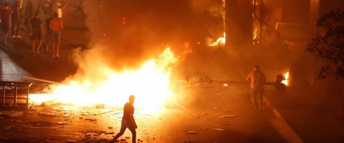 لبنان.. جرحى في صدامات مع الأمن ودعوات لإسقاط الحكومة