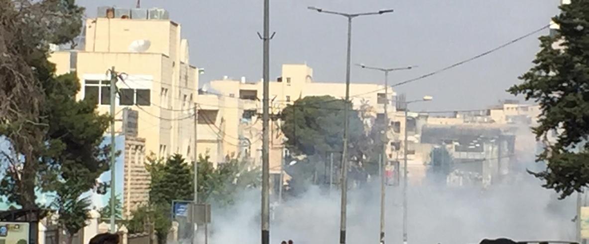 الاحتلال يقمع مسيرة طلابية في بيت لحم