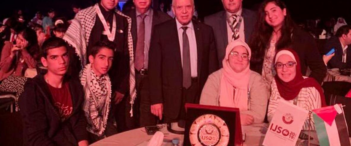 فلسطين تحصل على عضوية دائمة في أولمبياد العلوم العالمي وتحصد عدداً من الجوائز