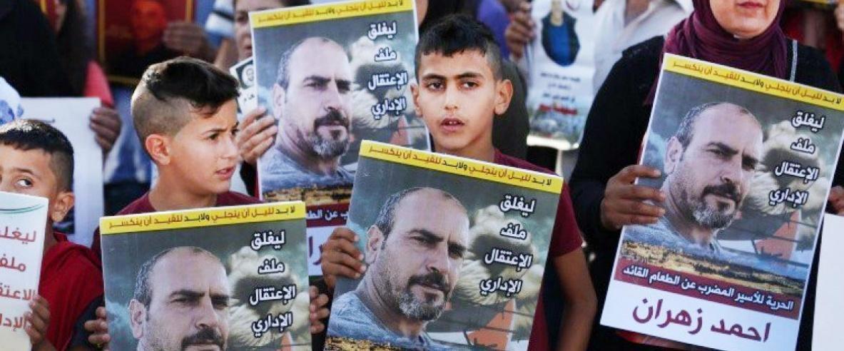 الأسير أحمد زهران يعلق إضرابه عن الطعام