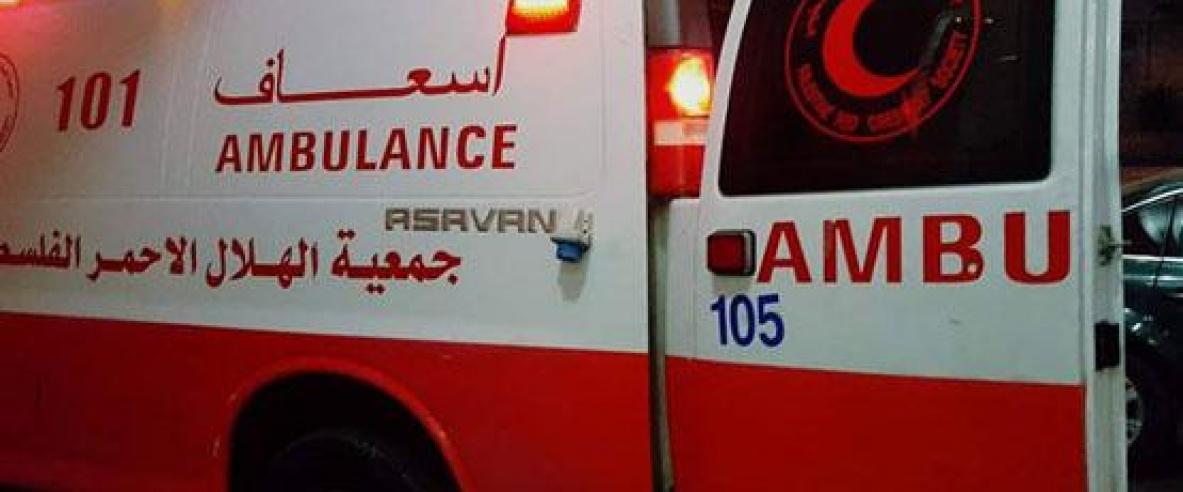 مصرع طفلة بحادث دعس جنوب شرق بيت لحم