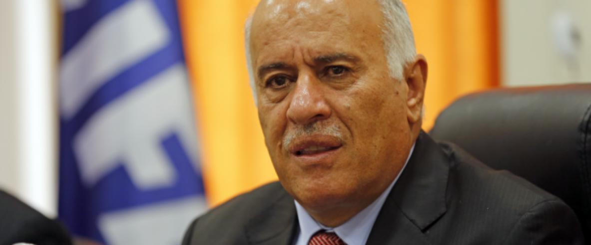 الرجوب: التحلل من الاتفاقات مع إسرائيل وأميركا قرار استراتيجي اتخذ بالوقت المناسب