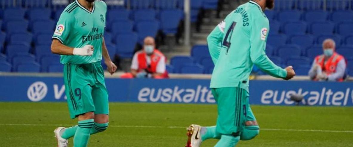 ريال مدريد ينتزع صدارة الليغا