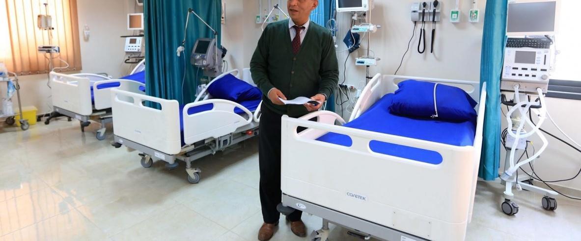بيت لحم : افتتاح محطة الأكسجين الحديثة في المركز الوطني
