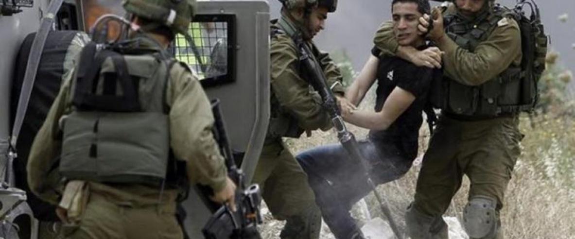 الاحتلال ينكل بالطفل نور الدين عبيد أثناء اعتقاله واستجوابه