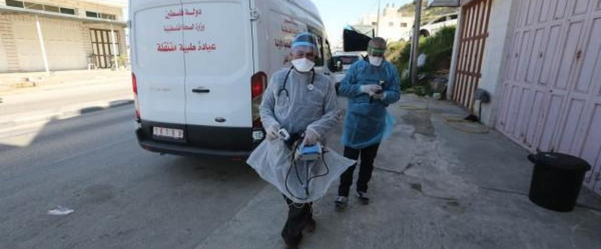 26 حالة وفاة وتسجيل 2762 إصابة جديدة بكورونا في فلسطين