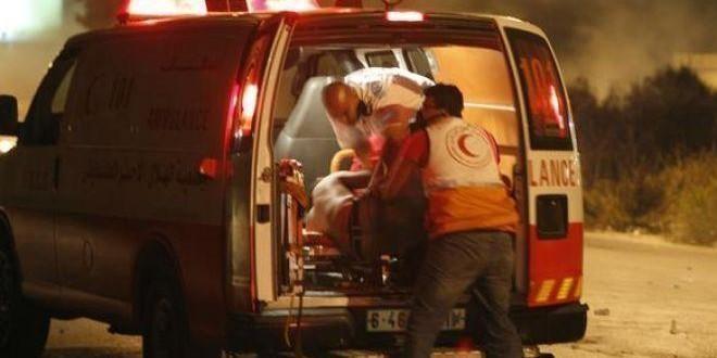 اصابة مواطنة  بعد تعرضها للدهس من  مستوطن في واد رحال  جنوب بيت لحم