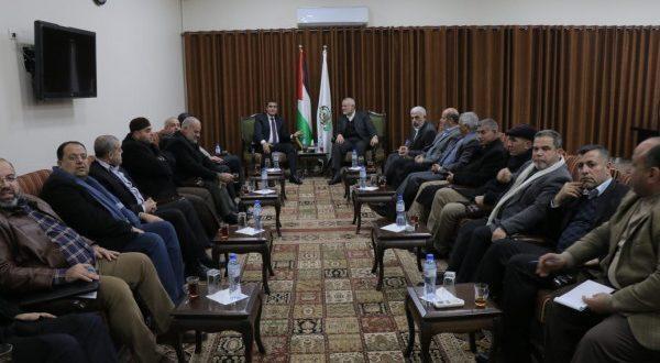 نتائج اجتماعات الوفد المصري مع الفصائل في غزة