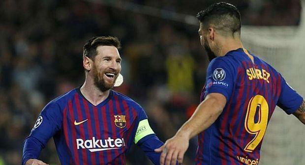 برشلونة يتأهل باستعراض أمام ليون