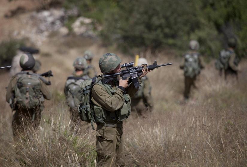 الاحتلال يقتحم شرق نابلس ويجري تدريبات عسكرية