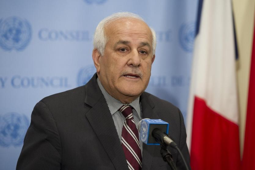 منصور يطالب مجلس الأمن بالتحرك العاجل لوقف انتهاكات الاحتلال