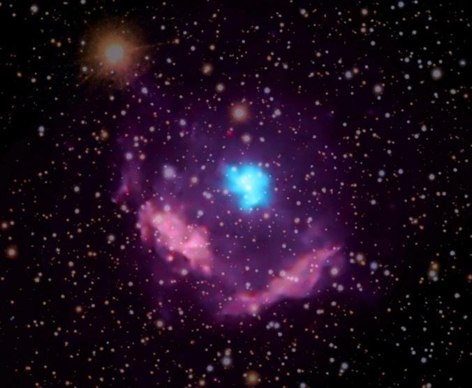 اكتشاف نوع جديد من النجوم النابضة