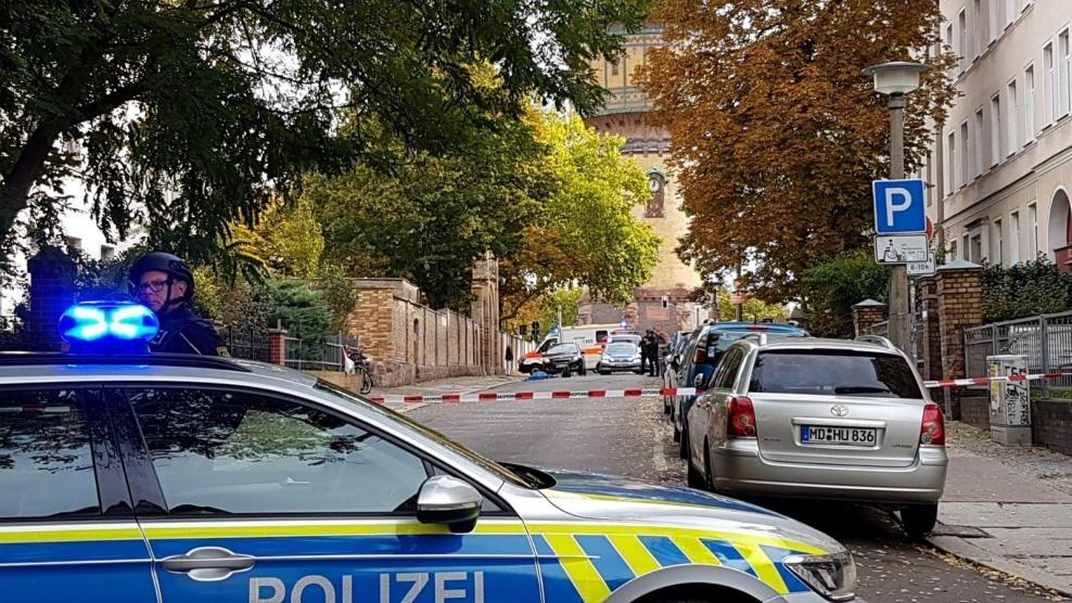 مقتل عدة أشخاص بإطلاق نار امام معبد يهودي في المانيا
