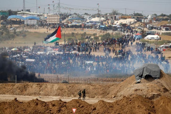 غزة: مسيرات العودة تنطلق مجددًا بعد توقفها 3 أسابيع