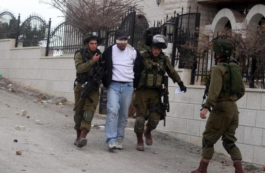 حملة اعتقالات إسرائيلية في الضفة