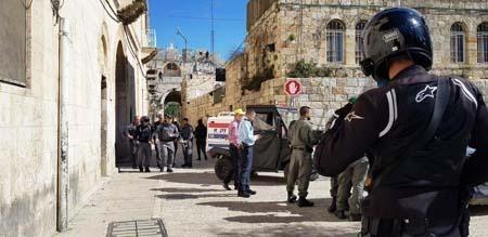 تسليم جثمان منفذ عملية القدس الى ذويه في حيفا