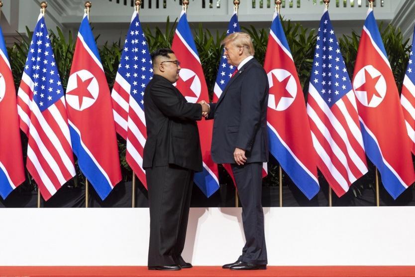 ترامب: نحن في حالة حرب وطلبت مساعدة ايران وكوريا الشمالية