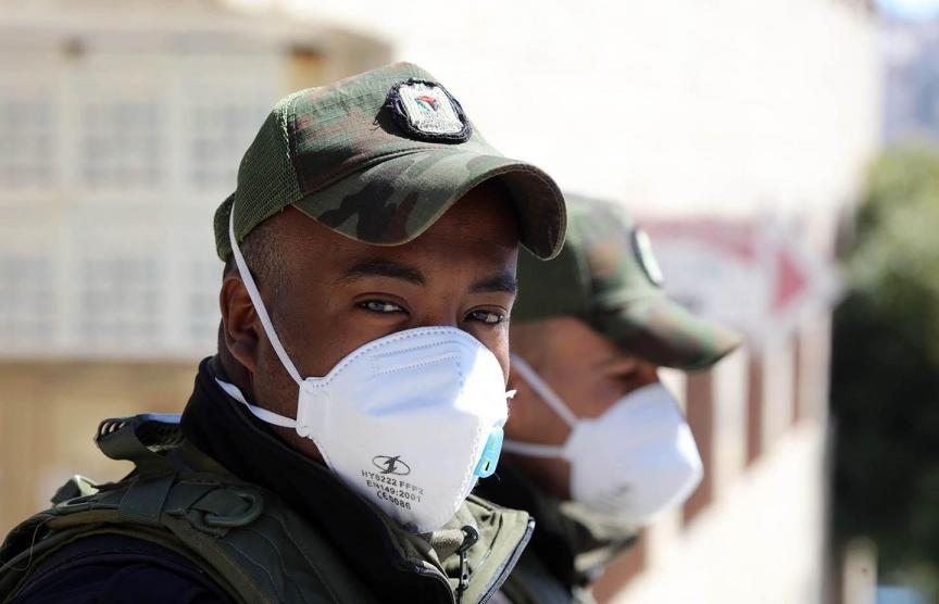 لا إصابات جديدة بفيروس كورونا في الاراضي الفلسطينية