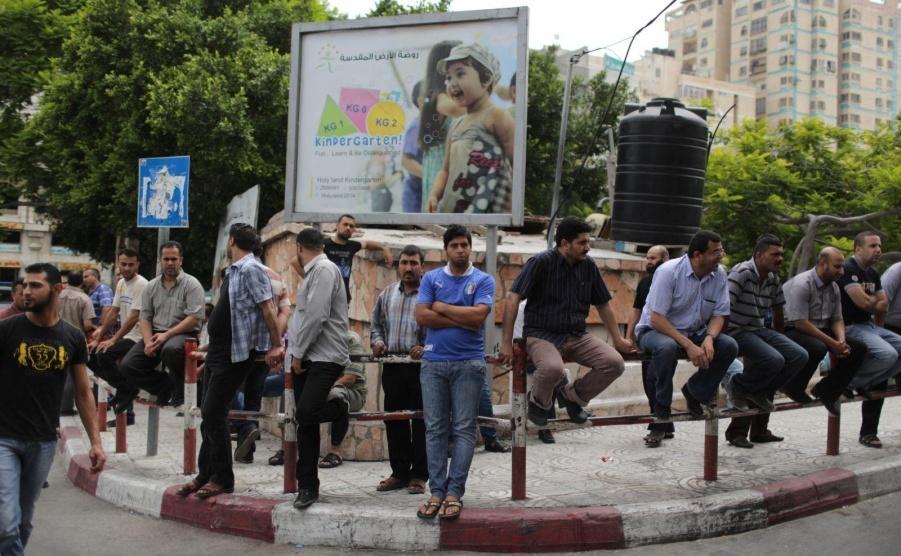 معدل البطالة في غزة يقترب من٦٠٪