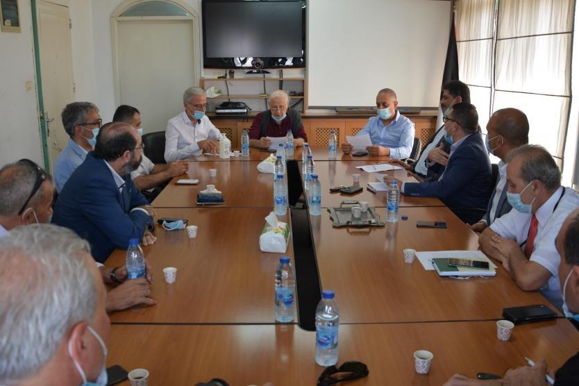 رئيس لجنة الانتخابات يستقبل مؤسسات المجتمع المدني