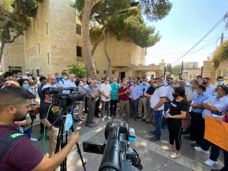 نقابة العاملين في جامعة بيت لحم تعلن عن خطوات تصعيدية